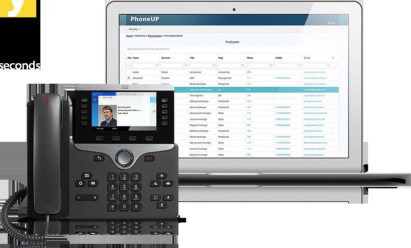 Enterprise Phone Directory for CUCM - PhoneUP Directory