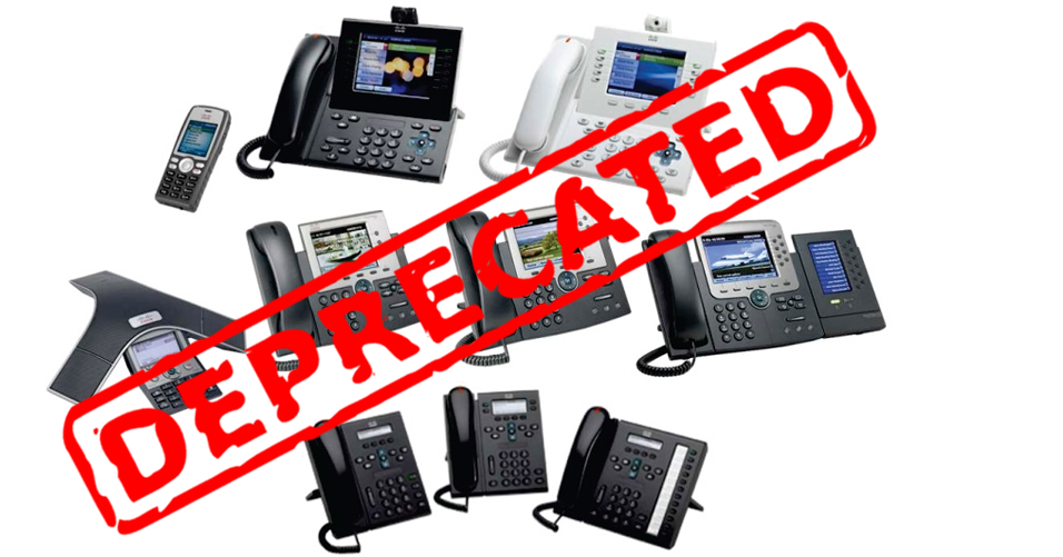 Deprecated Cisco IP Phones in CUCM 14